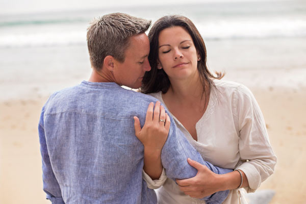 Engagement Photos on the Beach in Malibu