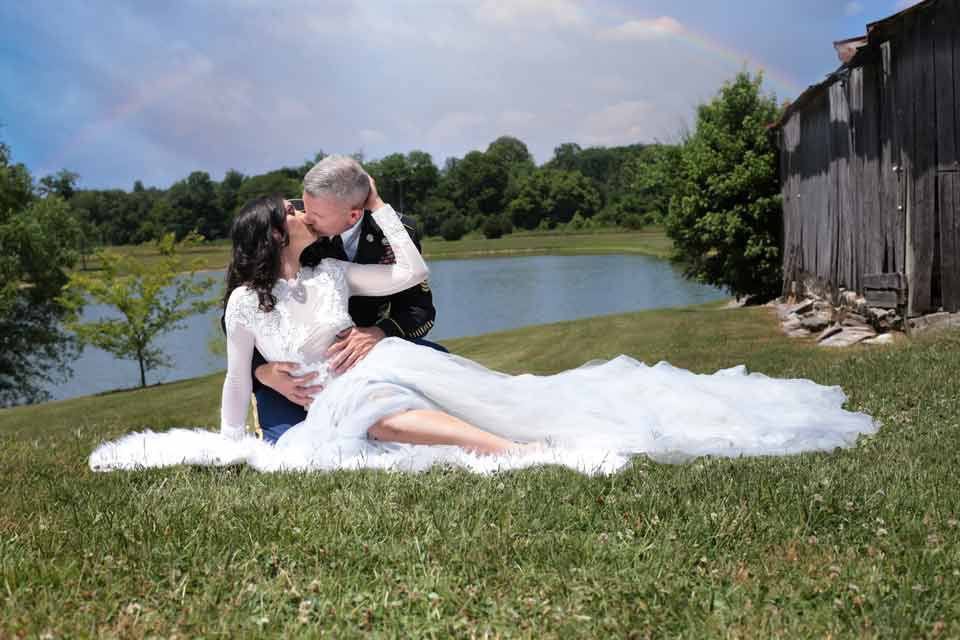 Romantic Engagement Photos in Franklin TN