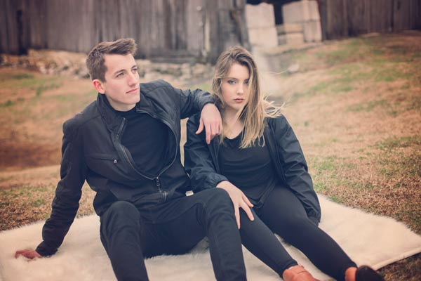 Brother and Sister Editorial Shoot