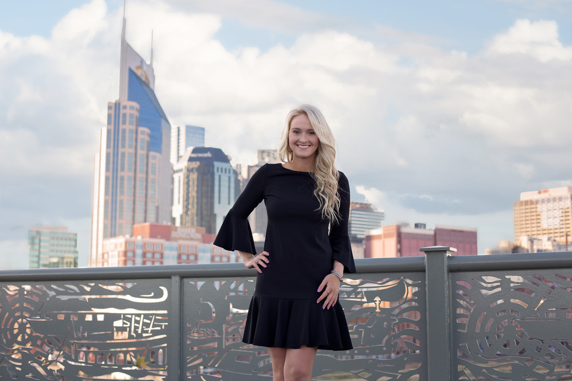 Downtown Nashville Graduation photos